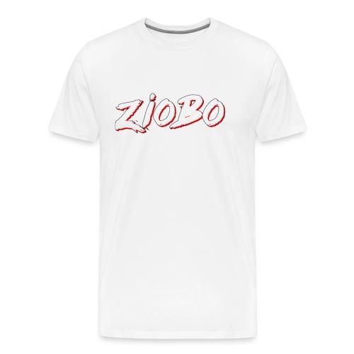 white ziobo - Men's Premium T-Shirt