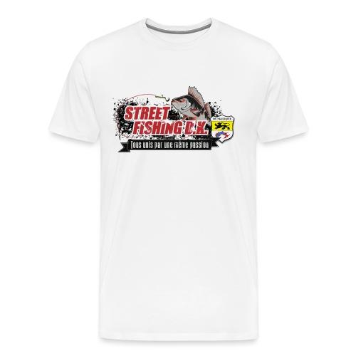 StreetFishingDK.png - T-shirt Premium Homme