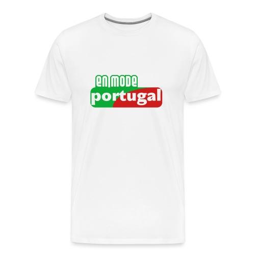 en mode portugal logo - T-shirt Premium Homme