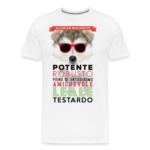 04_ALASKAN_MALAMUTE - Maglietta Premium da uomo