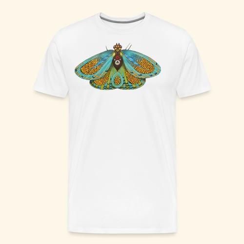 Psychedelic butterfly - Maglietta Premium da uomo