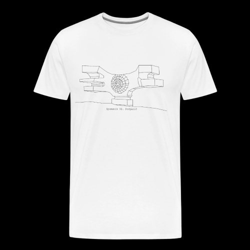 Serie 02 | Spomenik Podgaric - Camiseta premium hombre