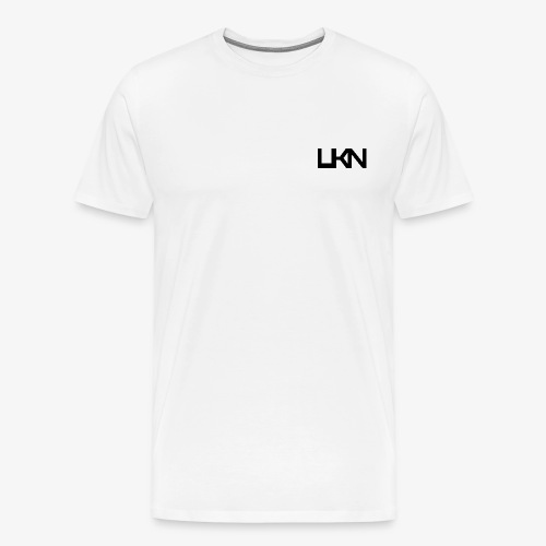 UKN Just Black Text - Men's Premium T-Shirt