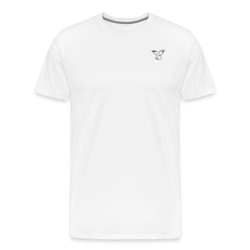 colombe blanche Logo white - Männer Premium T-Shirt