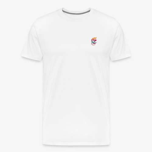 Elemental Retro logo - Men's Premium T-Shirt