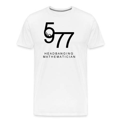 Headbanging Mathematician - T-shirt Premium Homme