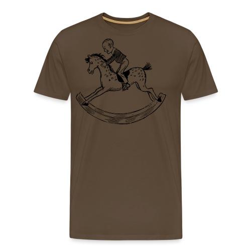 konik na biegunach - Koszulka męska Premium