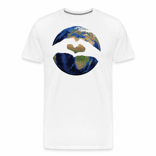 Zu zweit um die Welt - Logo - Männer Premium T-Shirt