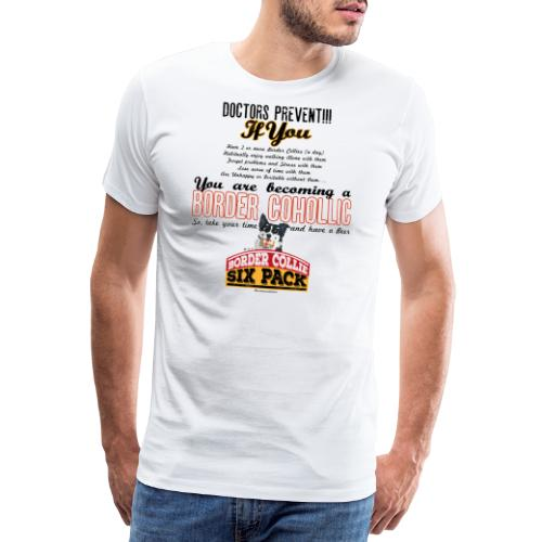 Border Cohollic - Men's Premium T-Shirt