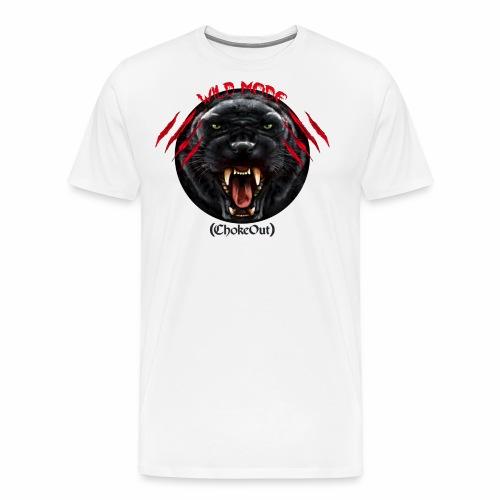 Wild Mode. Bjj, Mma, grappling - Camiseta premium hombre