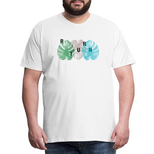 ReturnNature naturecontest - Maglietta Premium da uomo