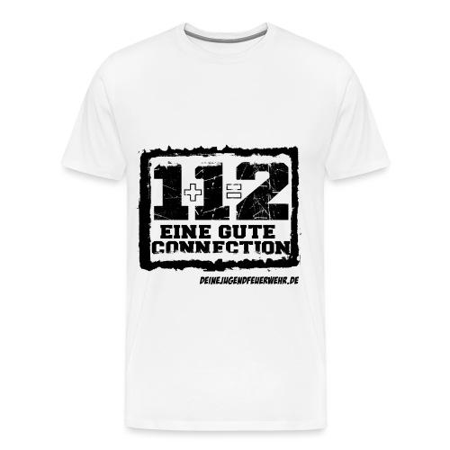 1+1=2 Logo - Männer Premium T-Shirt