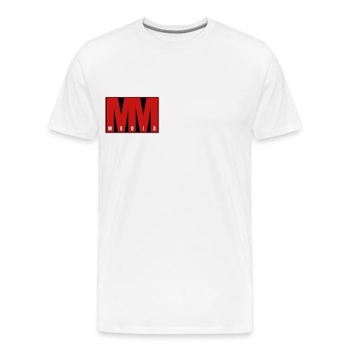 MM Media - Premium-T-shirt herr