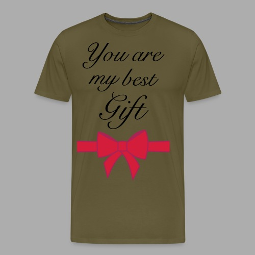 you are my best gift - Men's Premium T-Shirt
