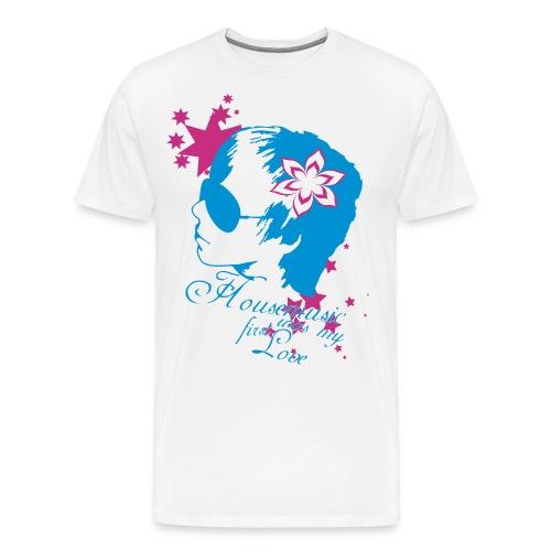 Housemusic was - Männer Premium T-Shirt