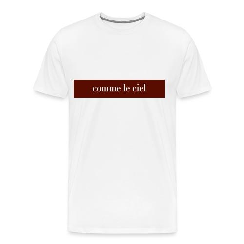caracterés bordeaux - Men's Premium T-Shirt