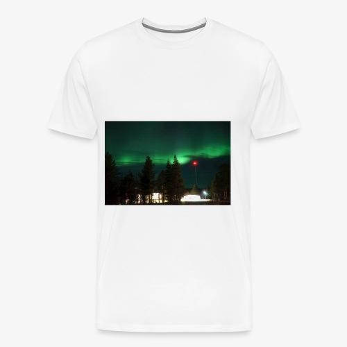 Aurora Boreale - Maglietta Premium da uomo