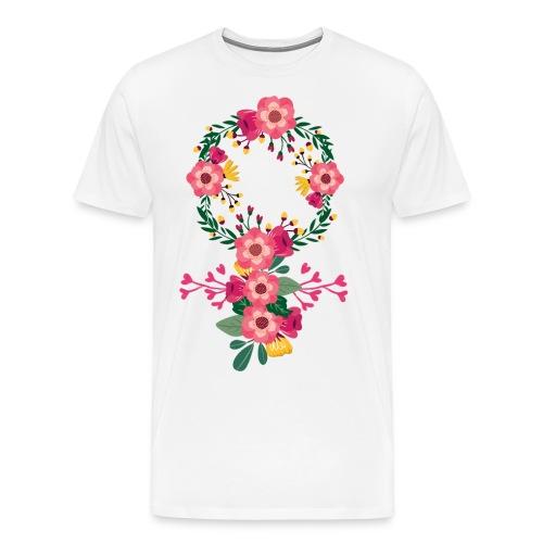 Venussymbol - Premium-T-shirt herr