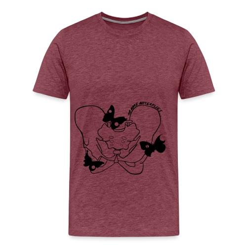 No more butterflies - Männer Premium T-Shirt