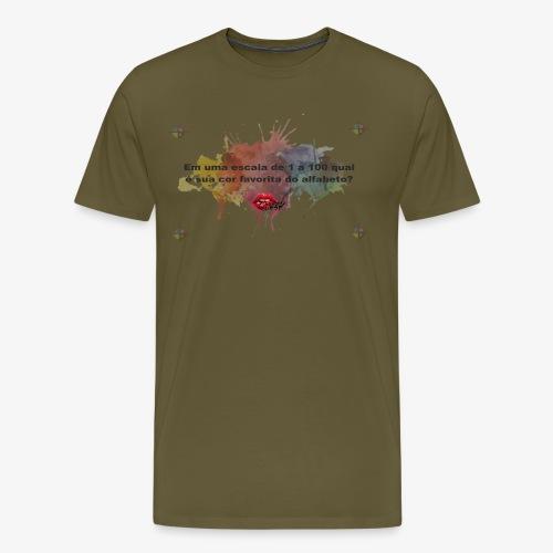 Versinho cmyk - Men's Premium T-Shirt