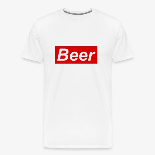 Beer. Red limited edition - Mannen Premium T-shirt