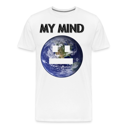 MY MIND - Premium-T-shirt herr