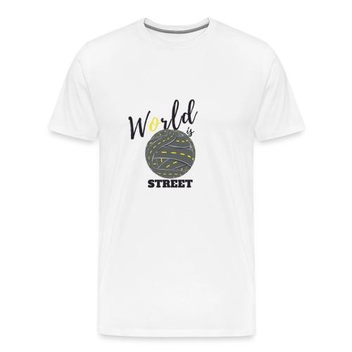 World is Street - T-shirt Premium Homme