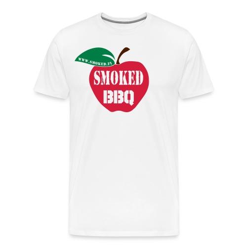 Smoked BBQ - Miesten premium t-paita
