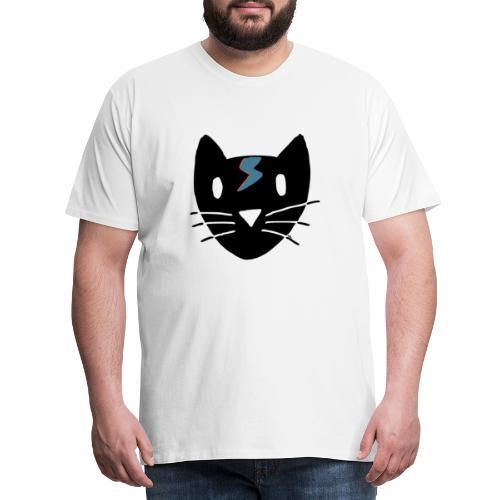 Bowie Cat - Männer Premium T-Shirt