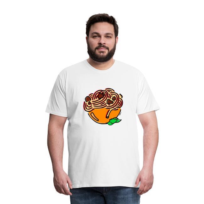 Schüssel Spaghetti