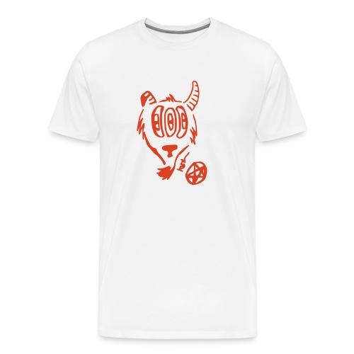 Bouc aux trois yeux - T-shirt Premium Homme