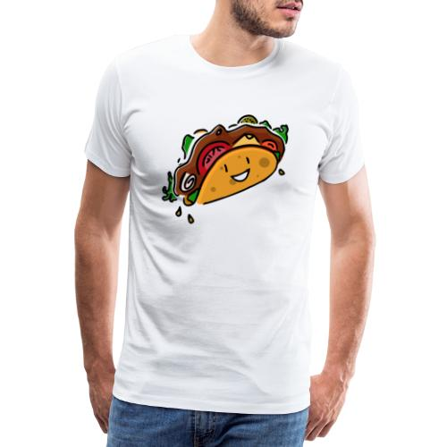 Glücklicher Taco - Männer Premium T-Shirt