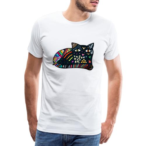 Chat Onirique - T-shirt Premium Homme