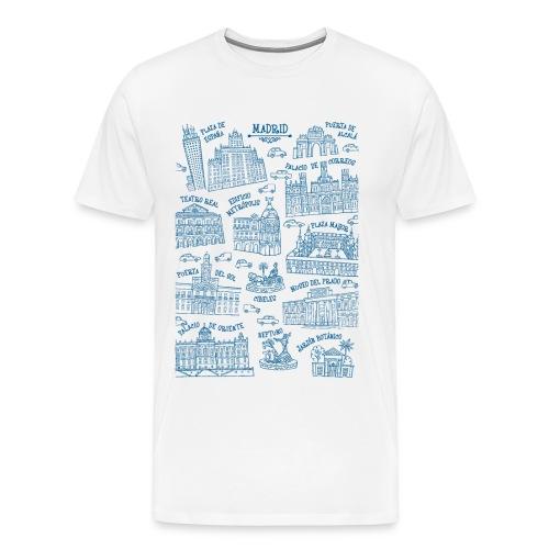 MADRID MONUMENTAL - Camiseta premium hombre