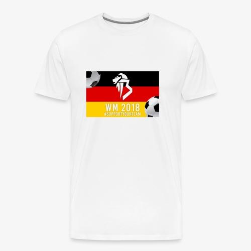 BaNg Logo + Bälle - Männer Premium T-Shirt