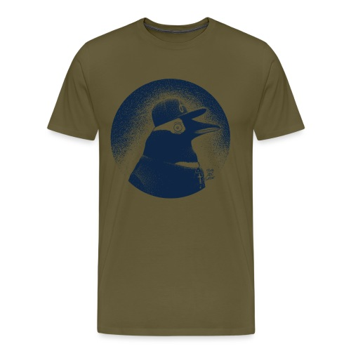 Pinguin dressed in black - Men's Premium T-Shirt
