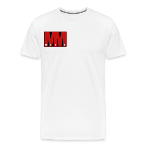 MM Media - Premium-T-shirt herr