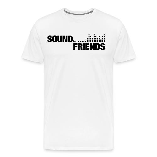 sff-logo-sw - Männer Premium T-Shirt