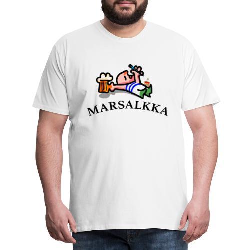 marsalkka - Miesten premium t-paita