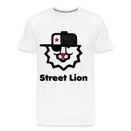 Street lion - T-shirt Premium Homme