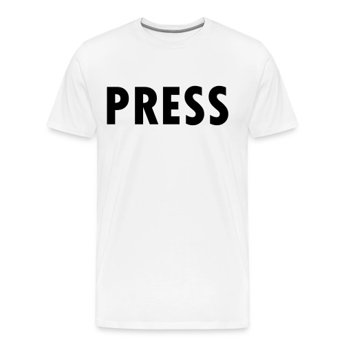 press - Männer Premium T-Shirt