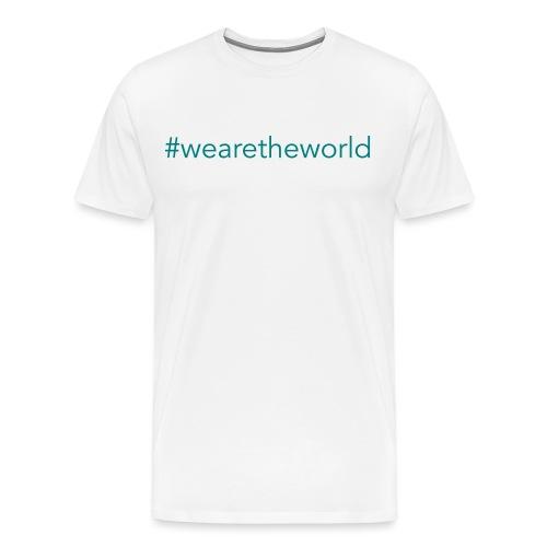 #wearetheworld - Männer Premium T-Shirt