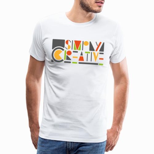 Simply creative - Men's Premium T-Shirt