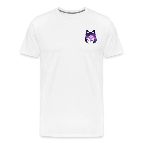 Galaxy wolf - T-shirt Premium Homme