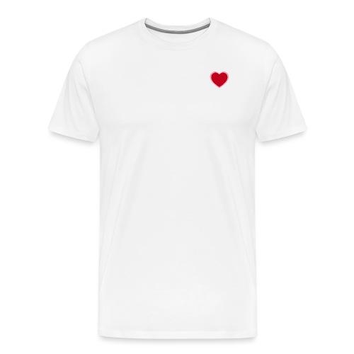 Heart pink - Camiseta premium hombre