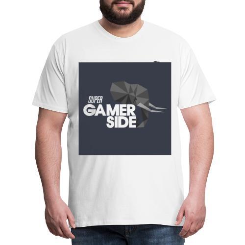 Super gamerside square - T-shirt Premium Homme