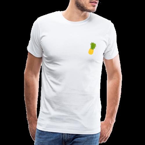 Ananas - Zeichnung - Männer Premium T-Shirt