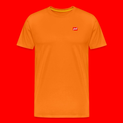 pd Red - Herre premium T-shirt