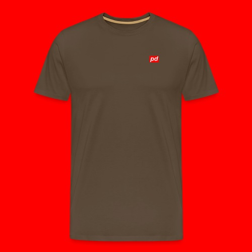 pd Red - Herre premium T-shirt
