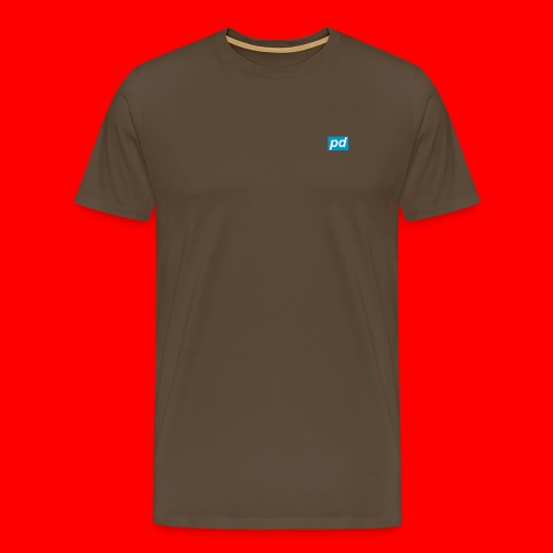 pd Blue - Herre premium T-shirt